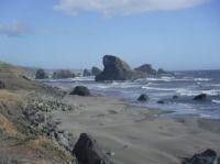 southern Oregon coast, south of Gold Beach