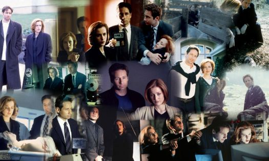 X-Files collage!