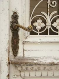 Art Nouveau Door Hardware - Looking For Refurbishment