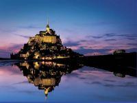 Mont Saint Michel, France L