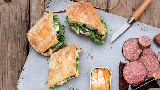 Picnic Sandwiches - Pan Bagnat With Fennel