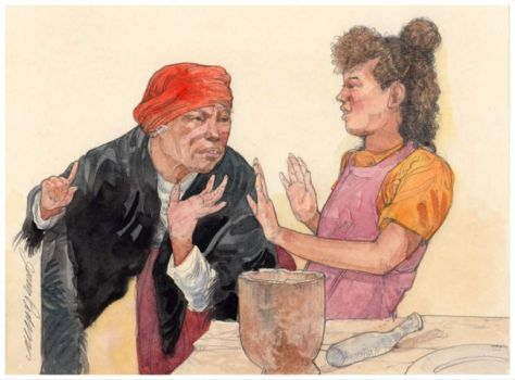 One Grain of Rice ~ Jerry Pinkney