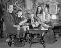 Merry Christmas from The Munsters