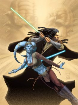 Star Wars: Aayla Secura and Quinlan Vos