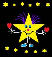 A Twinkle Star Doodle