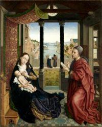 St. Luke draws the Madonna