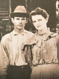 My mother and father in the 1880's