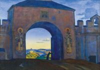 Nicholas Roerich (1874-1947), And We Are Opening the Gates