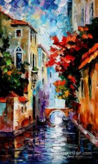 Morning In Venice  Leonid Afremov