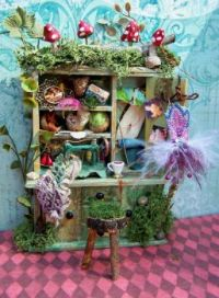 A Fairy's sewing nook