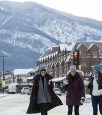 Winter in Banff, Alberta, Canada