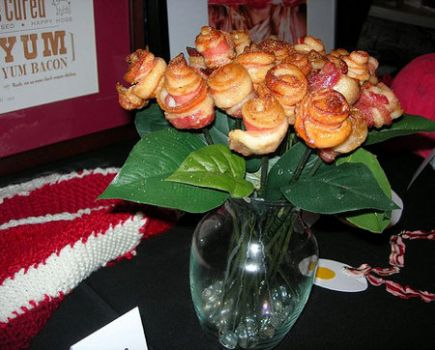 BACON ROSES - I made these today!