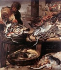 Frans Snyders--The Fishmonger