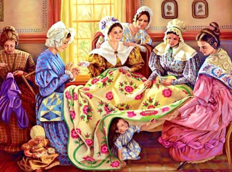 Old Time Sewing Circle