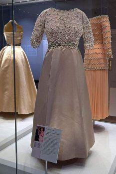 Queen Elizabeth's Silver Jubilee Beaded Gown 1977