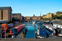 Gloucester Docks Posterised