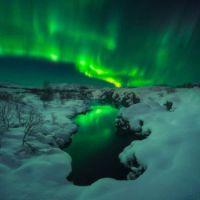 2  ~  AURORA BOREALIS  ~ Iceland.
