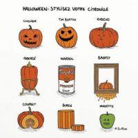The art of Halloween pumpkins