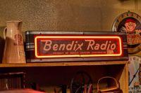 Bendix Radio Neon Signage