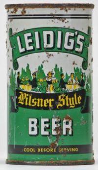 Leidig's Pilsner Style Beer - Lilek #490