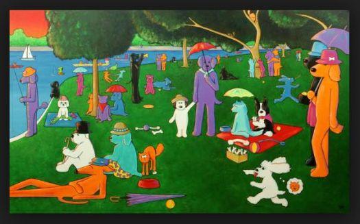 April Murphy's take on Georges Seurat