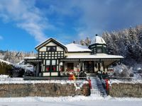Christmas beauty in Greenwood, BC, Canada