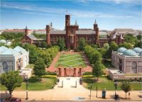 Smithsonian Castle from the Air