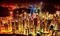 hong-kong-skyline Photograph by Spren Ben