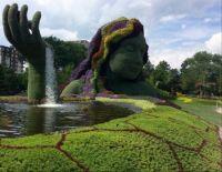 Gaia, Canada's 150th, Mosaic Garden, Gatineau