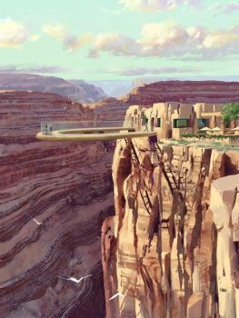 Skywalk at The Grand Canyon..