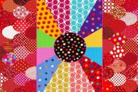 Sunday dots - large