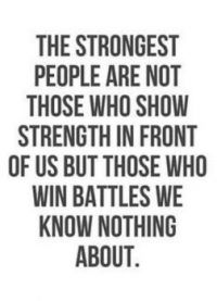 The strongest people