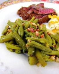 Ranch Style Green Beans from Plainchicken