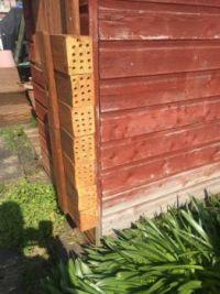 New Mason Bee boxes