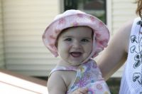 happy in a hat
