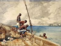Winslow Homer—The Conch Divers, 1885