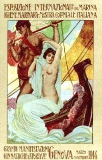 Genova, Italy, Marine Exposition of 1914