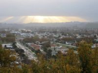 view fr deck over Whanganui NZ