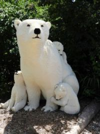 Lego Art - Polar Bear & Cubs