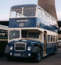 Alfreton Bus from old archives
