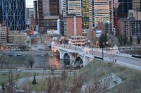 The beautiful city of Calgary, in Canada