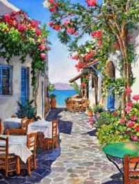 OFF THE BEATEN PATH FOR LUNCH, GREECE