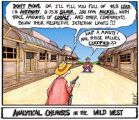 Analytical Chemists in the Wild West