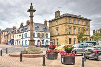 Town centre, Duns, Scottish Borders