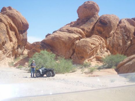 Visit to Valley of Fire-Nevada