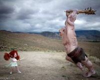 Boo vs. the Ogre