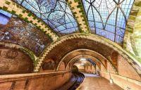 City Hall Subway Station, New York City, New York, USA