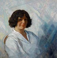 Portrait of Carolyn Wyeth, 1925, N. C. Wyeth (1882-1945)