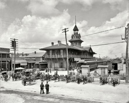 Station: Louisville-Nashville, Florida 1910