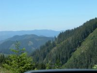 View near Crater Lake - Oregon